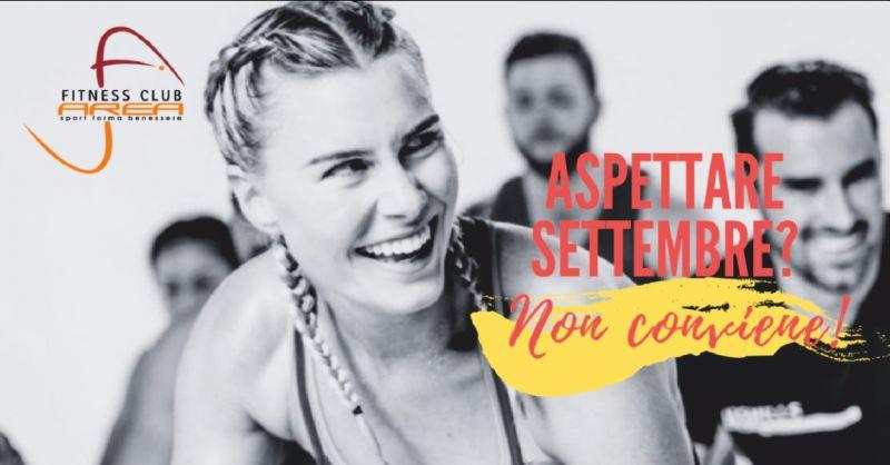 fitness club area sport offerta palestra torino - occasione palestra aperta ad agosto torino