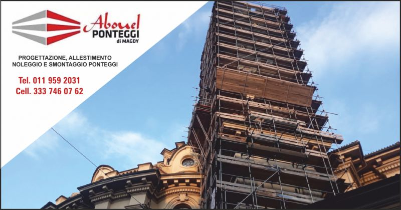 abouel ponteggi offerta allestimento ponteggi edili - occasione montaggio ponteggi edili torino