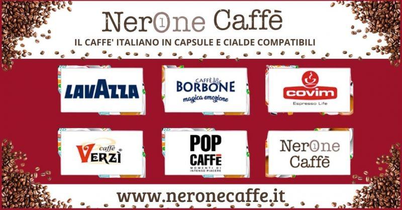 offerta vendita cialde e capsule delle migliori marche Prato – macchine e capsule caffe Borboni Prato