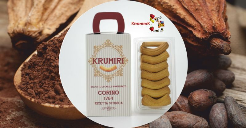 krumireria corino - offerta vendita online scatola biscotti krumiri classici 300 grammi