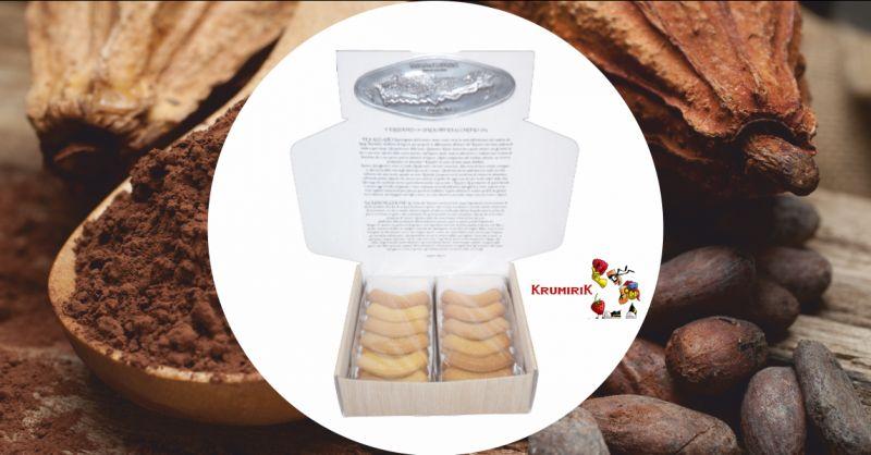 krumireria corino - occasione vendita online scatola in legno biscotti krumiri 500 grammi