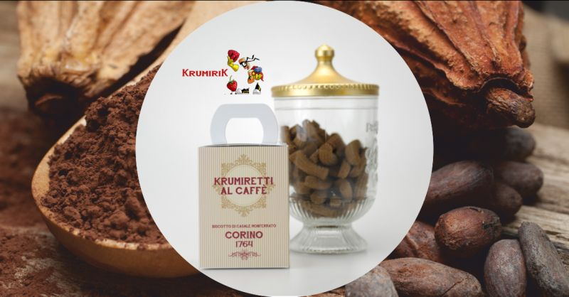 krumireria corino - offerta vendita online krumiri al caffe biscotti monferrato