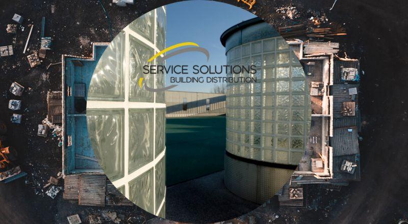 SERVICE SOLUTIONS - offerta vendita VETROMATTONE VETROCEMENTO TRASPARENTE ONDULATO