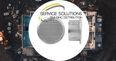 service solutions offerta vendita griglia da incasso in alluminio argento areazione