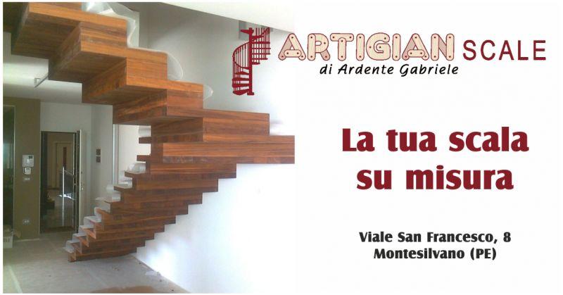 artigian scale offerta scale su misura - occasione scale in legno pescara