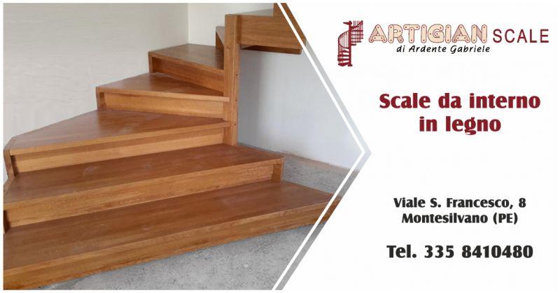 artigian scale offerta scale in legno per interni - occasione vendita scale in legno pescara
