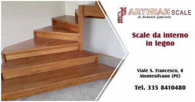 artigian scale offerta scale in legno per interni occasione vendita scale in legno pescara