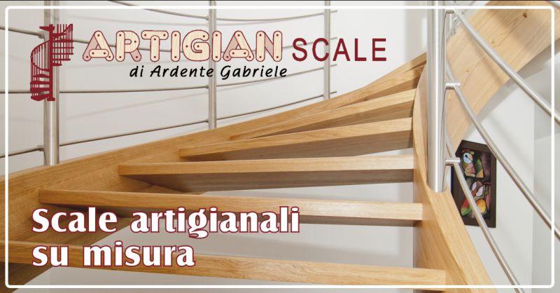 offerta realizzazione scale su misura in legno - occasione scale per interni ed esterni su misura pescara