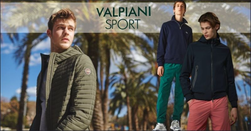 offerta abbigliamento uomo delle migliori marche Lucca e Versilia - Valpiani Sport