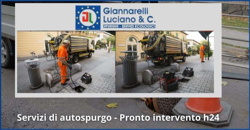 offerta servizi di autospurgo Pietrasanta e Versilia - GIANNARELLI LUCIANO SPURGHI