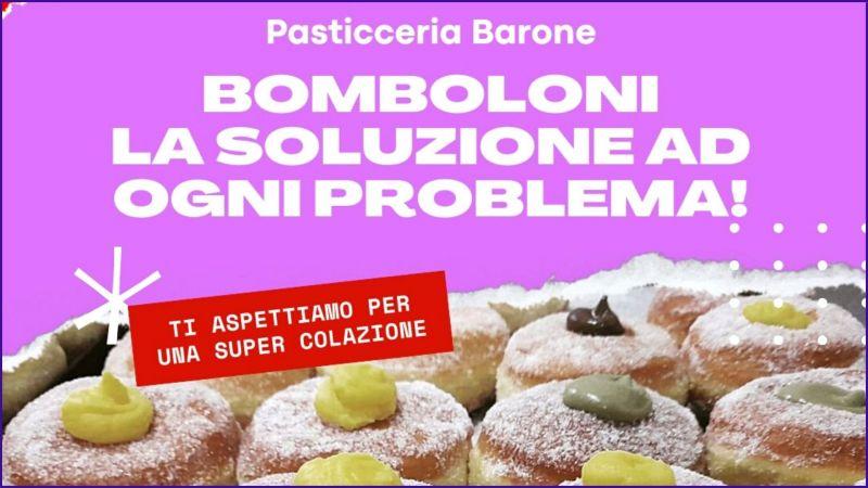 offerta bomboloni artigianali pasticceria Siena - PASTICCERIA BARONE