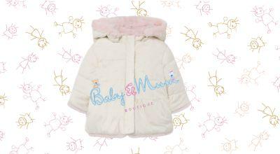 baby mum boutique offerta vendita giaccone reversibile pelliccio mayoral per neonato