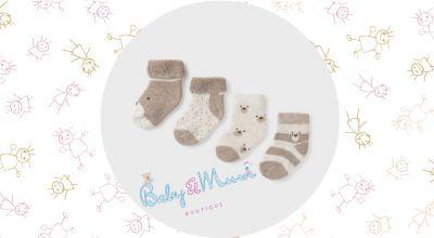 baby mum boutique offerta vendita online calze corte neonato mayoral design stampato