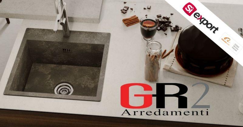 Offerta vendita lavello incorporato in laminato compatto OXID HPL di alta qualità italiano