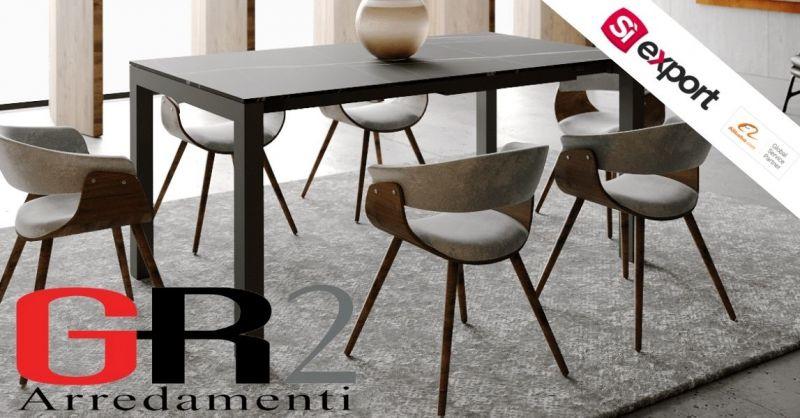 Offerta migliore qualità italiana CUBIC tavolo da pranzo compatto piano di lavoro laminato