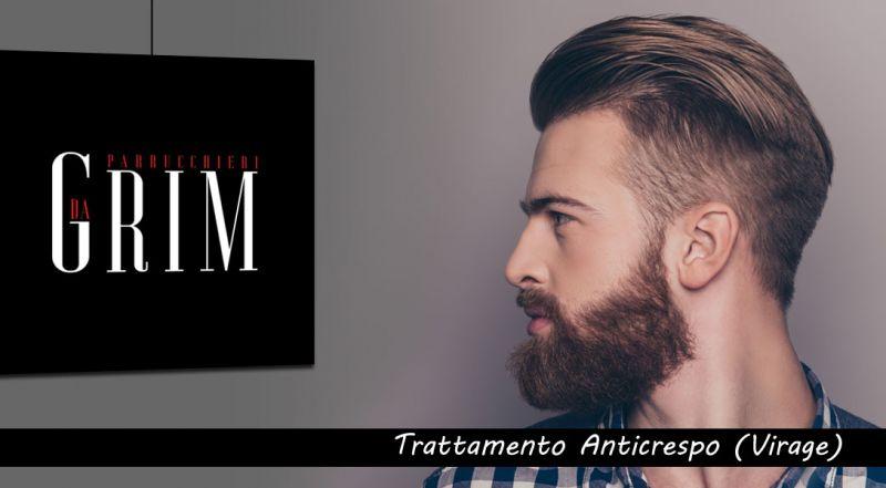 Dagrim Parrucchieri - promozione trattamento Anticrespo Virage uomo bari