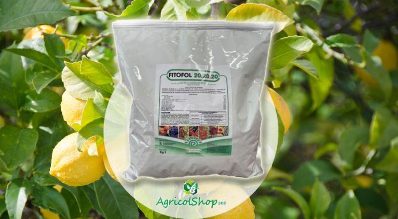 AgricolShop - offerta FITOFOL 20 20 20 INTEGRATORE FOGLIARE NPK CON MICROELEMENTI CHELATI