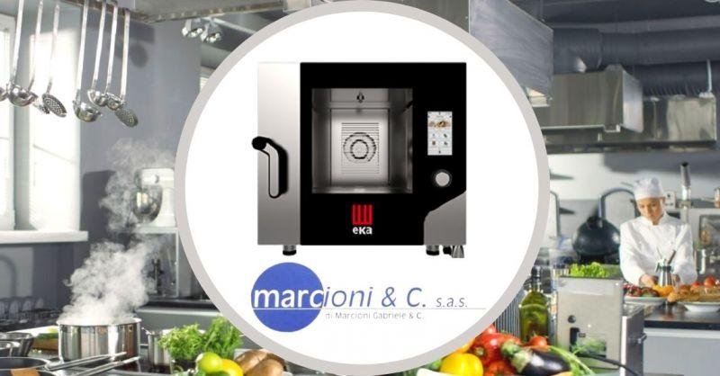 Offerta vendita online forno professionale Eka elettrico convenzione vapore modello MKF 511 TS