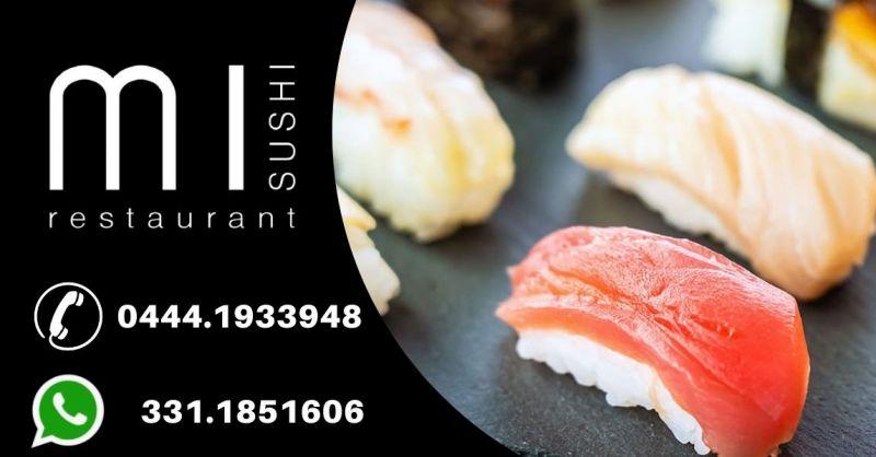 Dove magiare il miglio sushi a Noventa Vicentina - Occasione sushi con consegna a domicilio