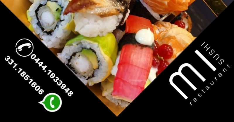 Ristorante qualificato location elegante dove magiare sushi a Noventa Vicentina vicino a Este