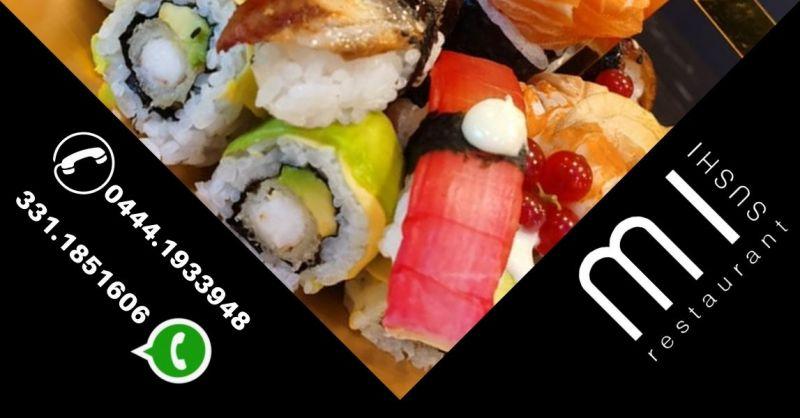 Ristorante qualificato location elegante dove mangiare sushi a Noventa Vicentina vicino a Este