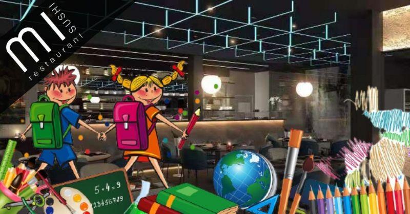 Promozione pranzo per studenti ALL YOU CAN EAT Noventa Vicentina Sushi MI Restaurant