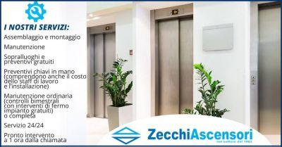 offerta installazione e manutenzione ascensori firenze zecchi ascensori