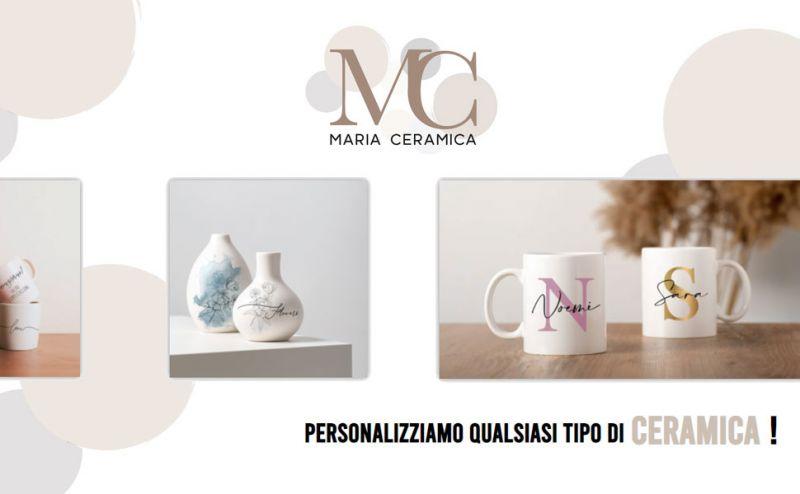 Maria Ceramica - Offerta stampa su piatti pizza in ceramica