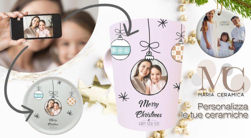 Offerta tazze e piatti di ceramica con stampa personalizzata napoli - promozione ceramica personalizzata con foto napoli