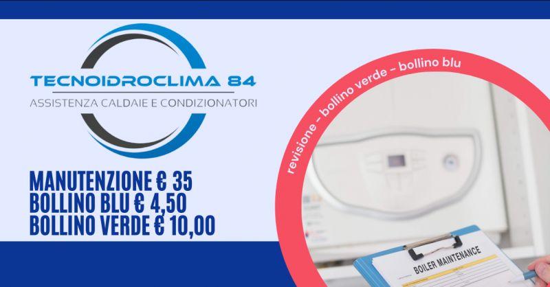 TECNOIDROCLIMA OTTANTAQUATTRO - Promozione revisione Certificazione Caldaia Roma