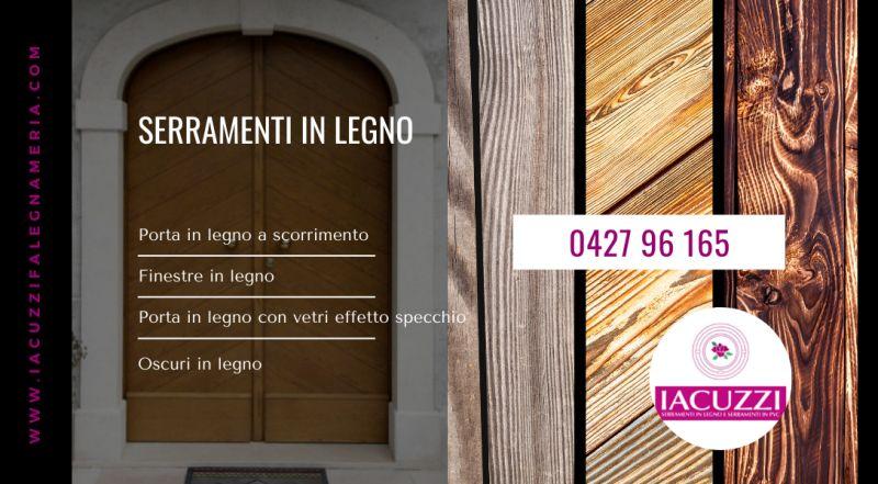 Offerta produzione infissi in legno Pordenone – vendita realizzazione porte in legno su misura a Pordenone