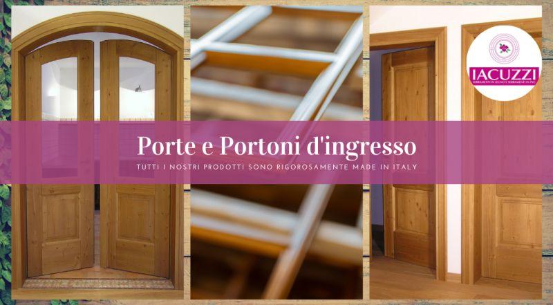Offerta realizzazione porte in legno su misura  Pordenone – occasione ditta di serramenti a Pordenone