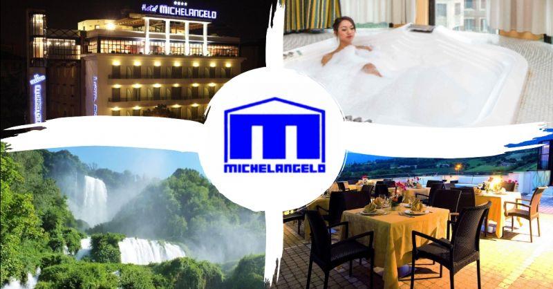HOTEL MICHELANGELO offerta hotel in centro a Terni - occasione hotel con ristorante panoramico