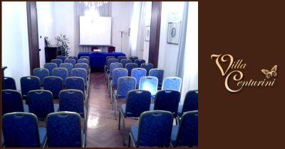 offerta prenotazione location per eventi aziendali terni occasione villa storica per mostre