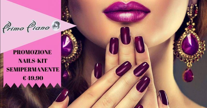 Promozione nails kit semipermanente Terni - offerta vendita kit unghie professionale Terni