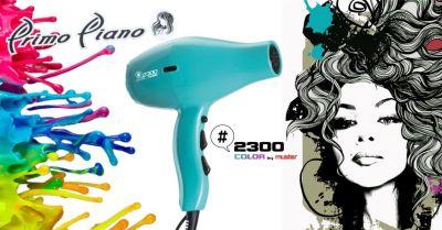 primo piano offerta vendita online phon professionale muster 2300 color