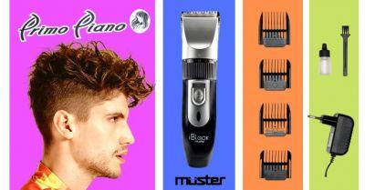 offerta tagliacapelli elettrico professionale muster occasione vendita tosatrice capelli muster terni