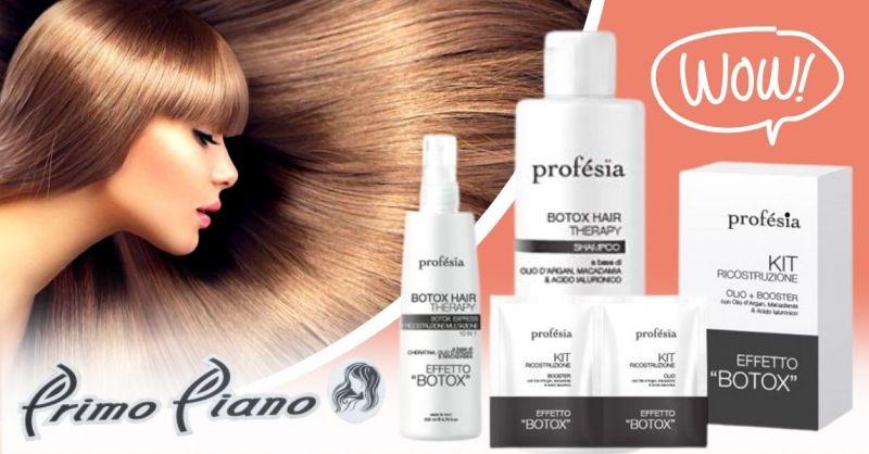 Offerta kit ricostruzione capelli professionale - Promozione vendita kit capelli Profesia Terni