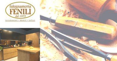 falegnameria fenili offerta realizzazione cucine artigianali terni occasione cucine su misura