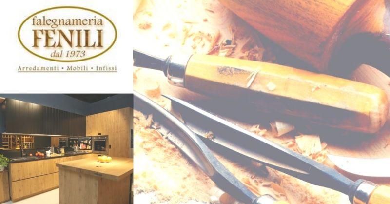 Falegnameria Fenili offerta realizzazione cucine artigianali Terni - occasione cucine su misura