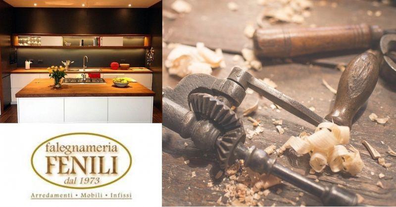offerta realizzazione cucine in legno - occasione cucine artigianali su misura Terni