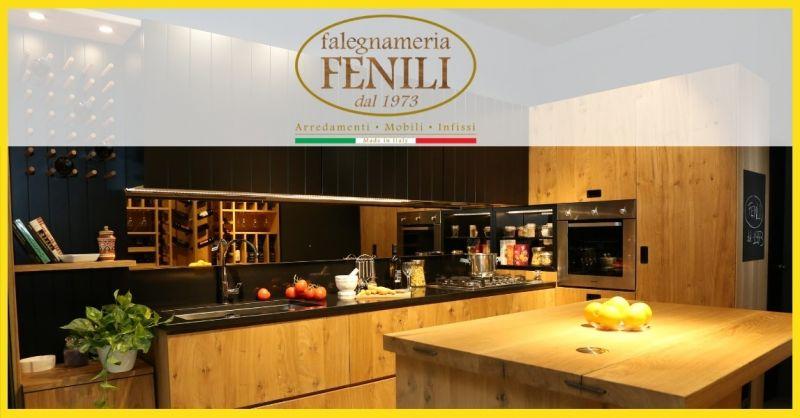 Falegnameria Fenili offerta realizzazione cucine su misura Terni - occasione vendita cucine
