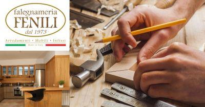 falegnameria fenili offerta realizzazione mobili infissi terni occasione vendita arredamenti