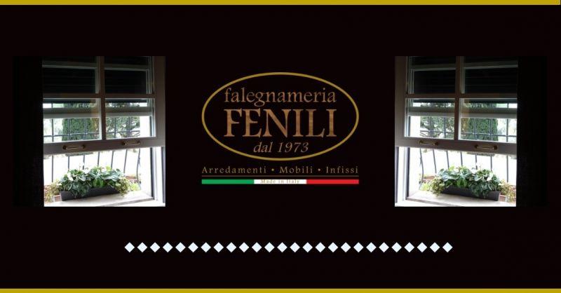 Falegnameria Fenili offerta produzione finestre ghigliottina - occasione prodotto made italy