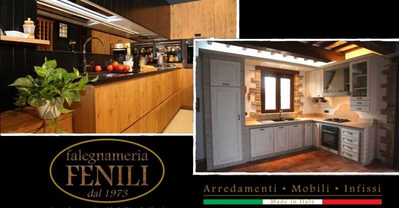 Offerta cucine in legno su misura Terni - Occasione cucine artigianali a prezzi di fabbrica Terni