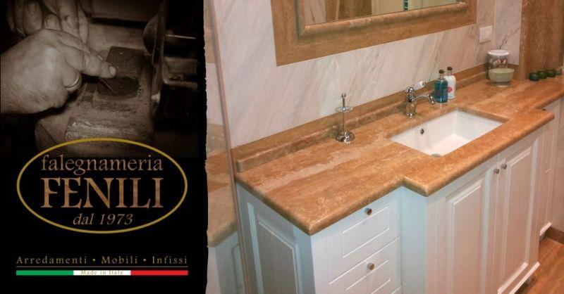 Offerta mobili arredo bagno su misura Terni - Occasione arredamento bagno artigianale Terni Roma