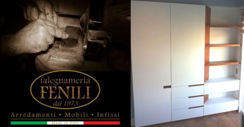 Offerta realizzazione armadio camera da letto Terni - Occasione armadi su misura artigianali Terni