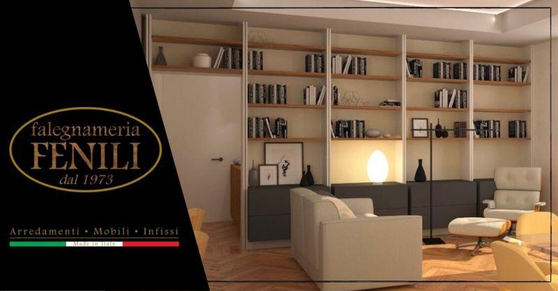 Offerta mobile soggiorno su misura Terni - Occasione produzione mobili per soggiorno artigianali Roma Terni
