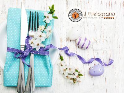 offerta pranzo di pasqua promozione menu di pasqua il melograno hotel garden