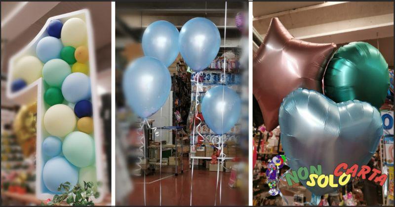 non solo carta offerta palloncini per compleanno - occasione palloncini per battesimi perugia